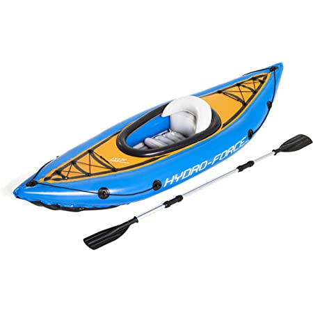 Bestway BW65115 Hydro-Force, Cove Champion Kayak with Oar, 1 Person Capacity, Colour