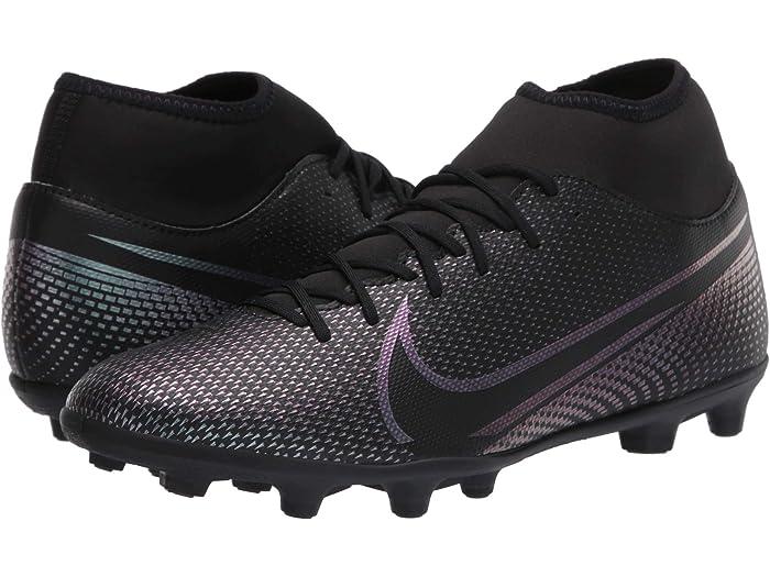 Jr Nike Legend 7 Club FG Soccer Cleats Black B// Red Size 12c New In Box