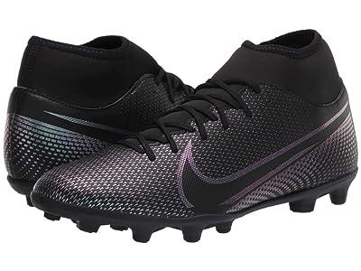 Nike Superfly 7 Club FG/MG (Black/Black) Cleated Shoes