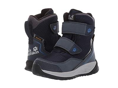Jack Wolfskin Kids Polar Bear Texapore High VC (Toddler/Little Kid/Big Kid) (Dark Blue/Light Grey) Boys Shoes