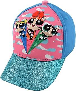 POWERPUFF GIRLS Little Girls Assorted Characters 3D Pop Baseball Cap, Blue, Age 4-7