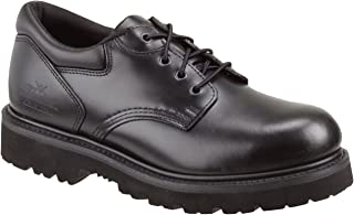 Thorogood Men's Uniform Classic Leather Oxford Steel Safety Toe