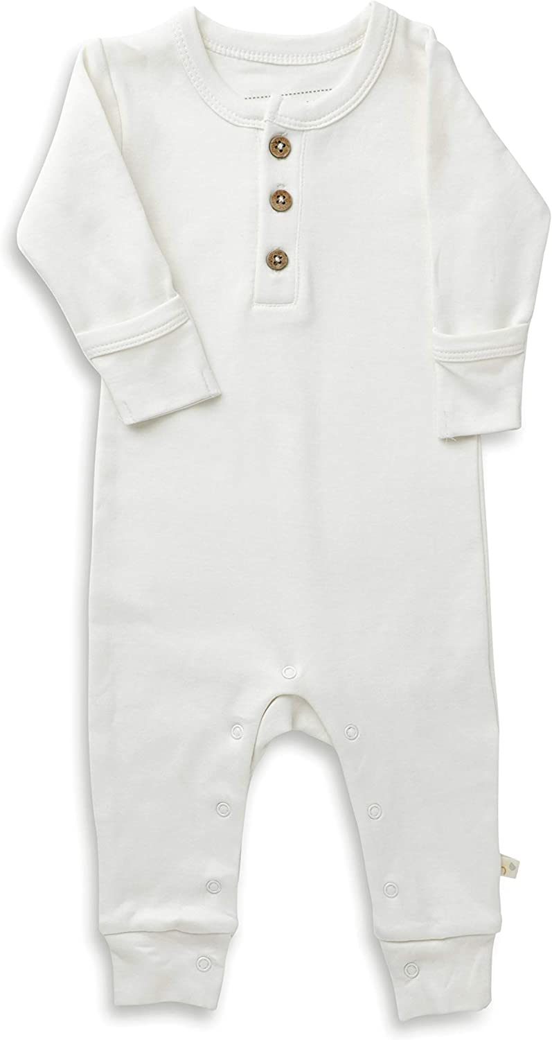 Makemake Organics Online limited product Organic Cotton Baby Mittens Romper Paj Max 82% OFF Clothes