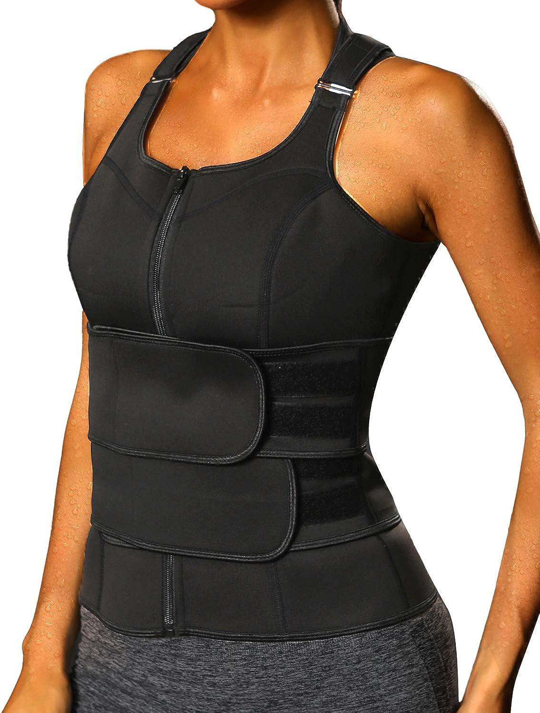Vaslanda Waist Max 90% OFF Trainer Vest Sauna 40% OFF Cheap Sale Neoprene Workou Women Suit for