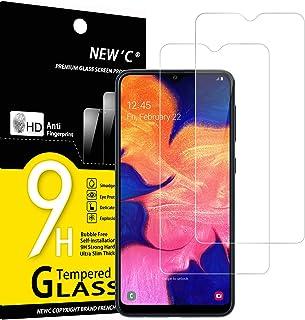 comprar comparacion NEW'C 2 Unidades, Protector de Pantalla para Samsung Galaxy A10 (SM-A105F), M10, Antiarañazos, Antihuellas, Sin Burbujas, ...