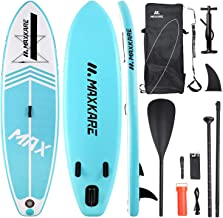 MaxKare Stand-Up Inflatable Paddle Board SUP Paddle Board(120in30in6in) Non-Slip Paddle Board with Complete Accessories& W...