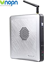 Mini PC Fanless Industrial Office Small Desktop Computer with Aluminum Case, Intel Celeron J1900 Quad Core, HD-MI and VGA Ports WiFi 1000Mbps LAN, Extended RAM SSD/HDD, Support Linux Windows 7/8/10