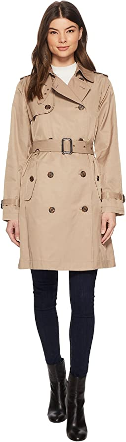 LAUREN Ralph Lauren Classic Trench with Zipout Warmer