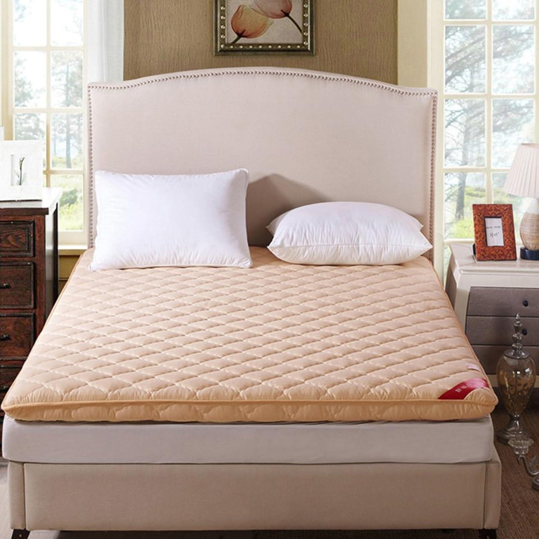 Foldable Thicken Sleeping Floor Futon Mattress, Ergonomics Breathable Tatami Mattress Topper Pad Japanese Bed roll for Student Dorm Student-F 90x200cm(35x79inch)