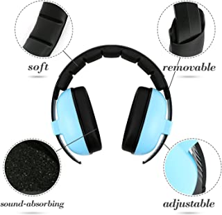 Baby Headphones Hearing Protection Headphones Noise Reduction for Babies and Toddlers Baby Earmuffs(Ages 3-24+ Months) Infant Hearing Protection Earmuff Soft & Adjustable Baby Ear Protection