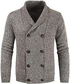 Jueshanzj Mens Pullover Slim Fit Knitwear Warm Sweaters