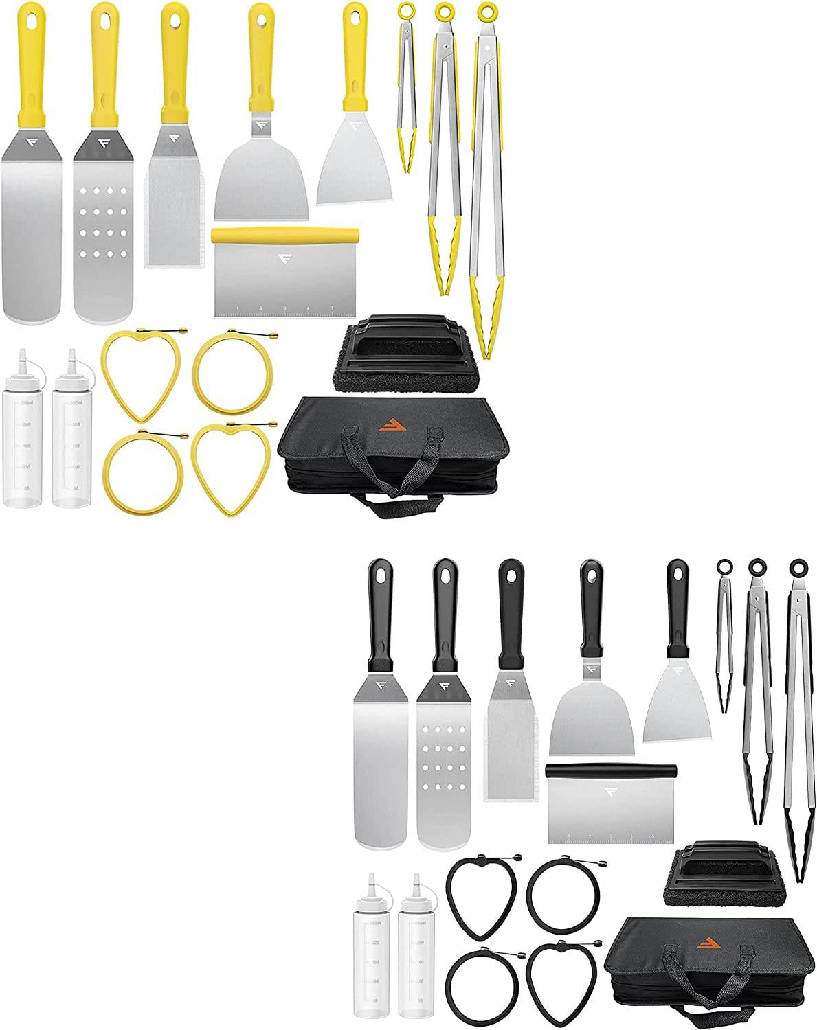 FiveJoy Griddle Accessories Kit New arrival Excellence for Camp BBQ Chef PCS Tools 17