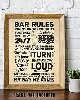 Bar Rules-