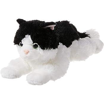 "Kitten 15/"" Bearington Collection BB-519800 Bearington Domino Plush Stuffed Animal Black and White Tuxedo Cat"