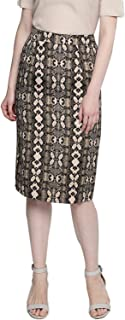 BESIVA Women's Snake Animal Print Pencil Skirt