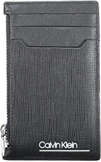 Calvin Klein SliveRed Mini 6CC With Coin Wallet, Black, 12 cm, K50K505300