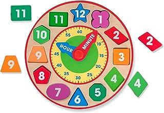 Melissa & Doug 8593 Shape Sorting Clock - Wooden Educational Toy
