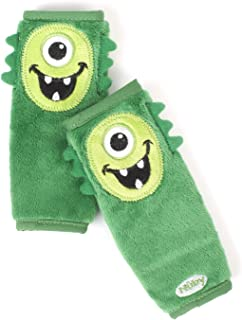 Nuby Car Seat StrapCovers 2 Pack, Green Monster