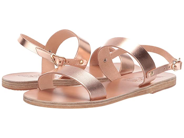 Ancient Greek Sandals  Clio (Pink Metal) Womens Sandals