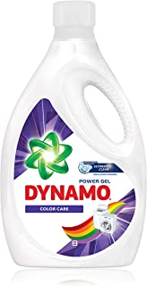 DYNAMO Power Gel Laundry Detergent, Color Care, 3.4kg
