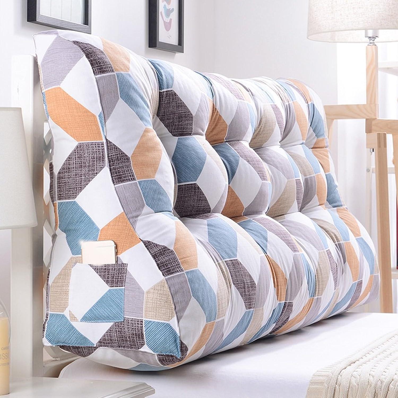 WOFULL Coussins de lit Coussin de tissu Coussin de lit (Couleur   gris, taille   1203060cm)