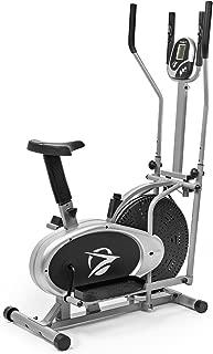 Elliptical Machine Cross Trainer 2 in 1 Exercise Bike Cardio Fitness Home Gym Equipment