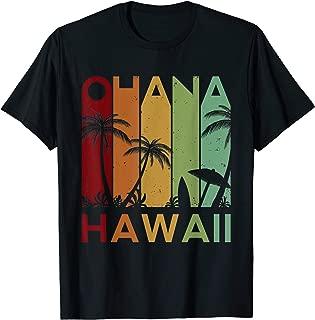 Retro Ohana Hawaii Tropical Vintage T-shirt