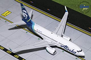 Gemini200 Alaska Airlines B737-700 N614AS 1:200 Scale Diecast Model Airplane