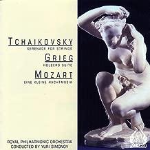 Tchaikovsky - Serenade For Strings / Grieg - Holberg Suite / Mozart - Eine Kleine Nachtmusik