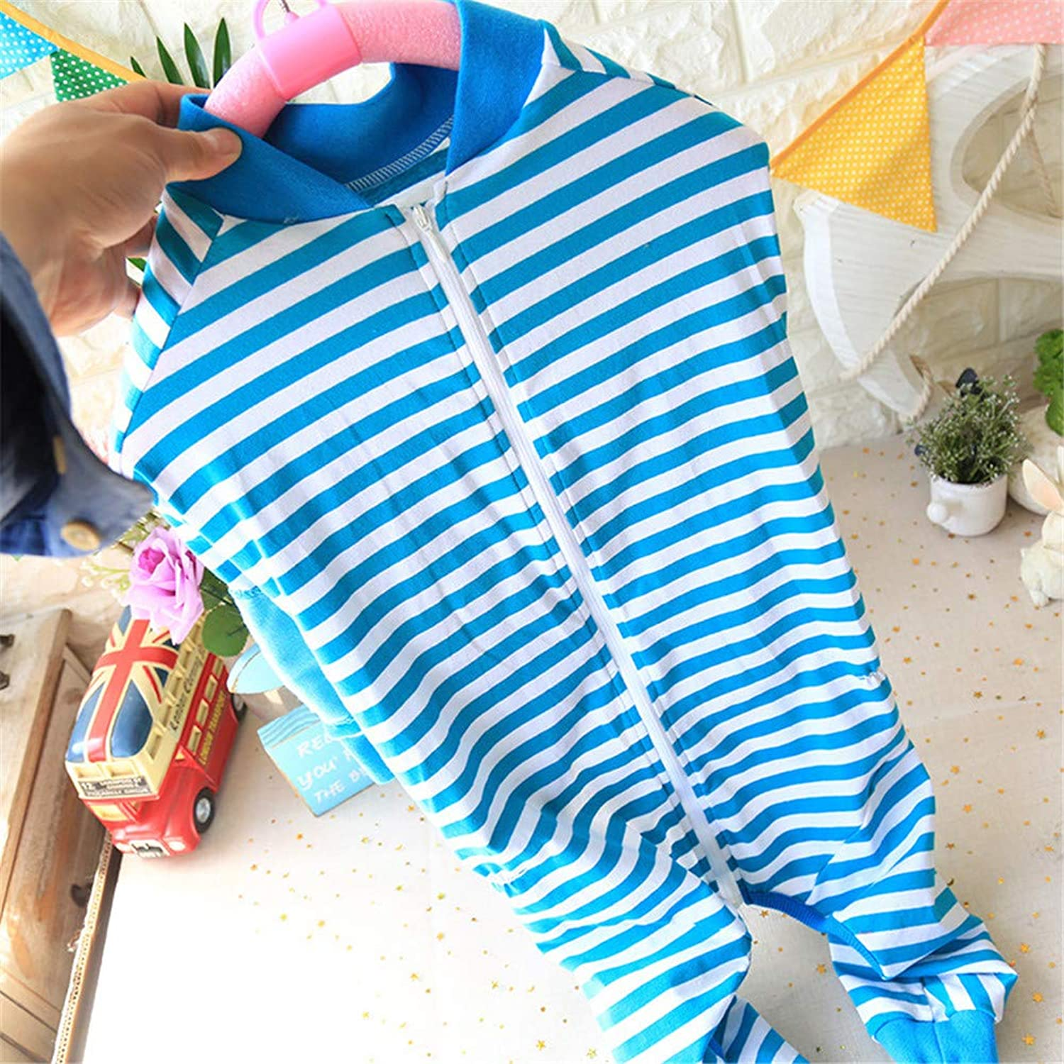 Hdwk&Hped Soft Cotton Dog Pajamas, Striped Small Dogs Puppies Cats Shirt & Jumpsuit & Dress 3 Styles  1 5 ( 3, Large Dog Jumpsuit  bluee)