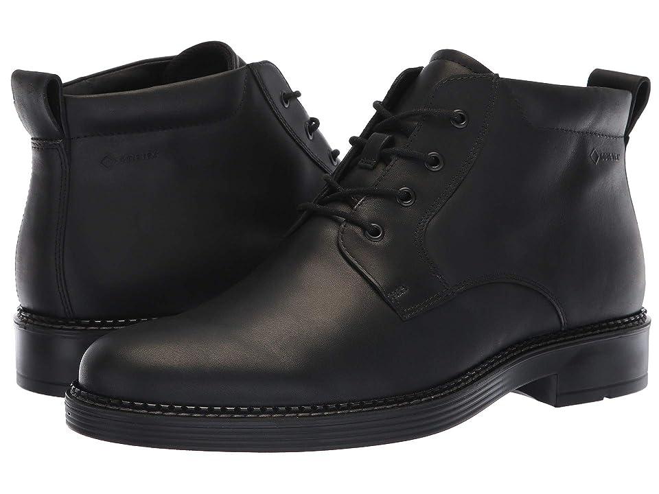 ECCO Newcastle Chukka Boot (Black) Men