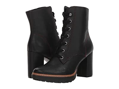 Naturalizer Callie (Black Tumbled Leather) Women