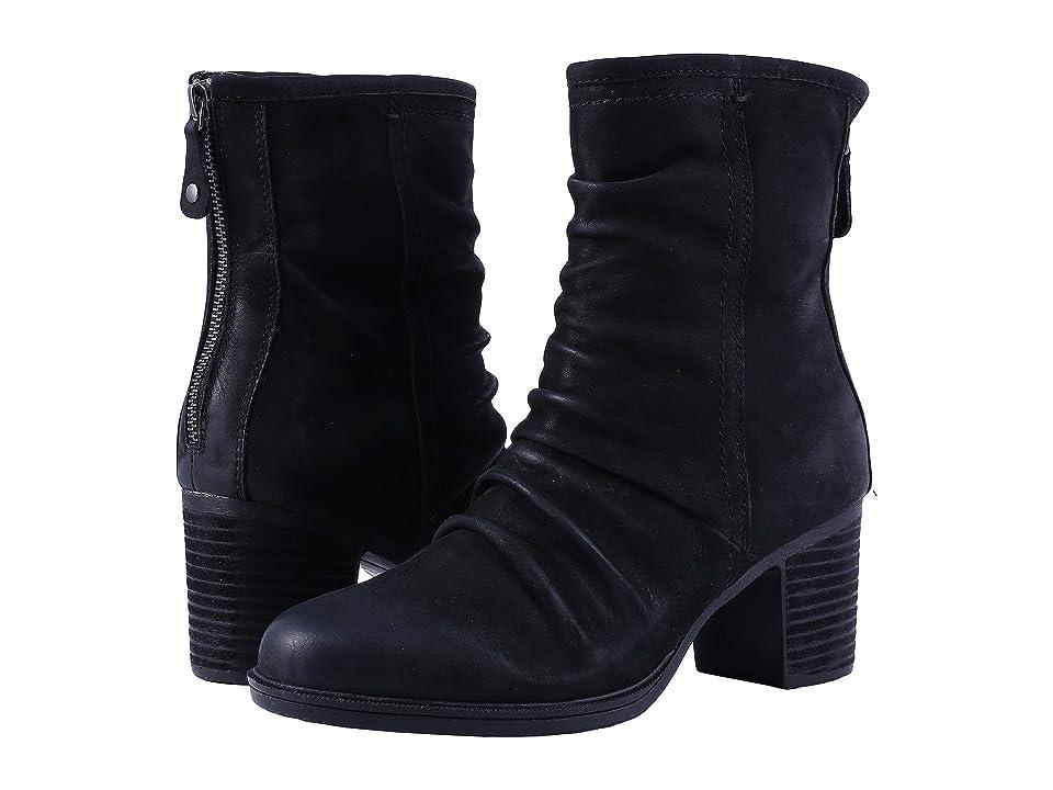 Rockport Cobb Hill Collection Cobb Hill Natashya Slouch Boot (Black Nubuck) Women