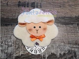 Disco Orario per auto con Pecora pecorella - idea regalo simpatica uomo donna