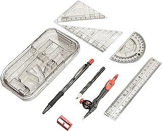 Helix Maped Study Zirkel-Set in Metallbox 10-teilig 019409