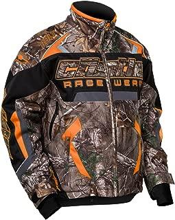 Castle X Racewear Bolt Realtree G3/G4 Mens Snowmobile Jacket Orange MD