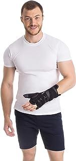 Muñequera con sujeción del pulgar para mano derecha Small Negro