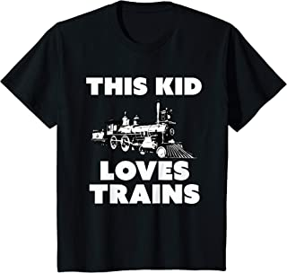 Kids Trains TShirt for Boys Girls