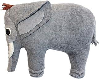 Silk Road Bazaar Felted Friend Elephant Design