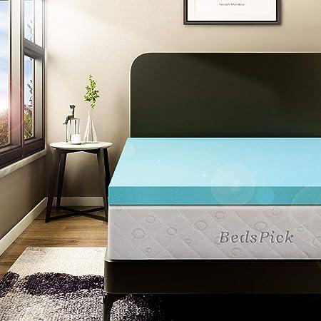 Twin Extra Long Sleep Better 3-Inch Visco Elastic Memory Foam Mattress Topper