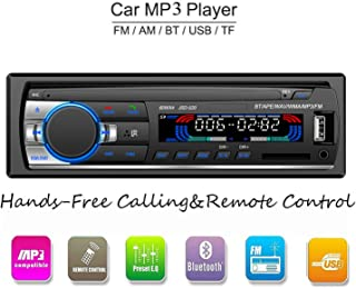 comprar comparacion ATian Autoradio Bluetooth, Llamadas Manos Libres Radio FM Estéreo de Coche 60Wx4, Apoyo de Reproductor MP3 4 parlantes/SD/...