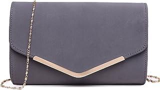 dfce59b8f8 Amazon.fr : Velours - Pochettes & Clutches / Femme : Chaussures et Sacs