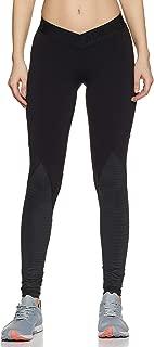 adidas Women's Alphaskin Sport Crew Long Sleeve Shirt, Black, M