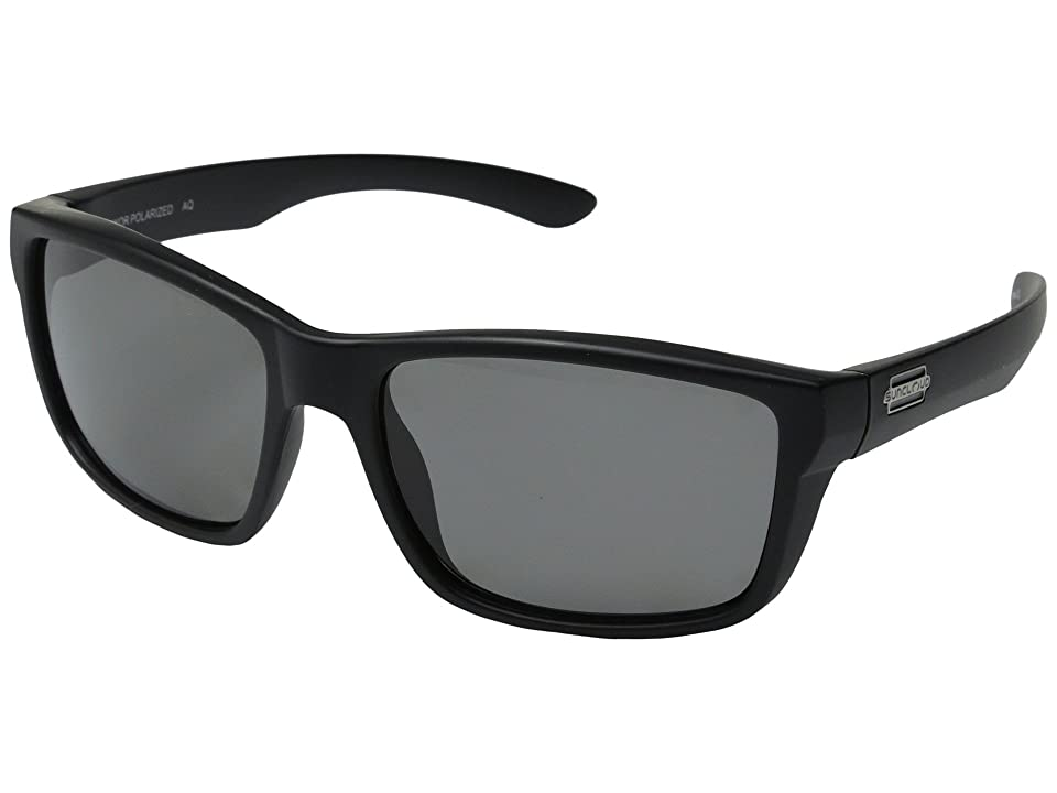 SunCloud Polarized Optics Mayor Polarized (Matte Black Frame/Gray Polycarbonate Lenses) Fashion Sunglasses