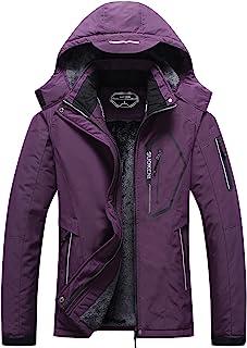 مانتو بارانی کلاه دار مانتو برفی گرم زمستانی ژاکت اسکی ضد آب