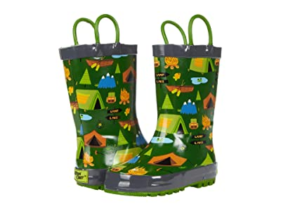 Western Chief Kids Camp Out Rain Boots (Toddler/Little Kid) Boy