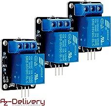 AZDelivery 3 x 1-Relais 5V KY-019 Modul High-Level-Trigger für Arduino inklusive eBook
