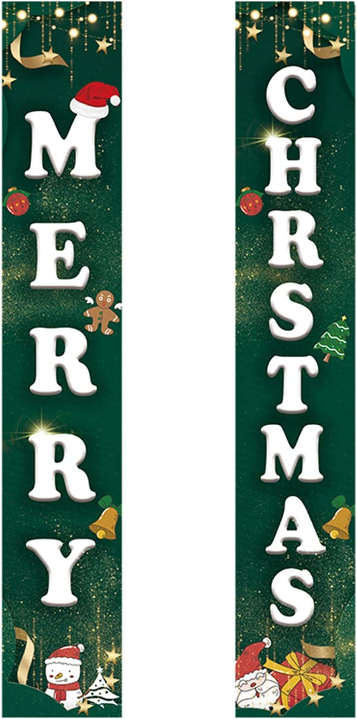 OhhGo Christmas Banners High order New Free Shipping Decor Merry Porch Sign Hanging
