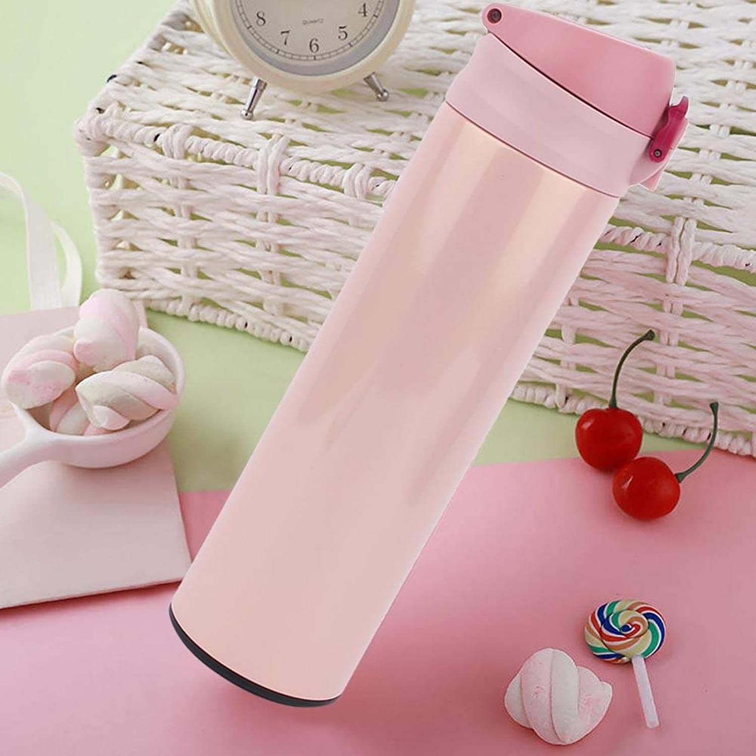 Stainless Steel Flask Thermo Water Bottle National Columbus Mall products Travel F Mug for 500ml