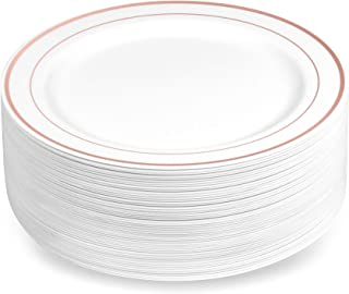 gold rimmed china dinner plates